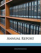 Annual Report - Anonymous
