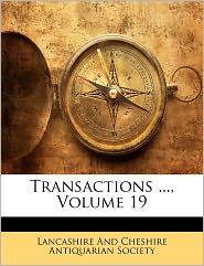 Transactions ..., Volume 19