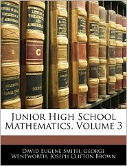 Junior High School Mathematics, Volume 3