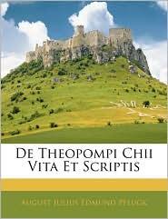 de Theopompi Chii Vita Et Scriptis