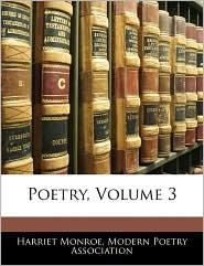 Poetry, Volume 3