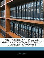 Archaeologia Aeliana, Or, Miscellaneous Tracts Relating to Antiquity, Volume 11 - Anonymous