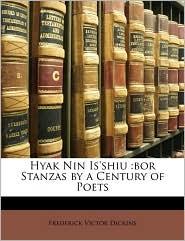 Hyak Nin Is'shiu: Bor Stanzas by a Century of Poets
