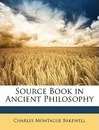 Source Book in Ancient Philosophy
