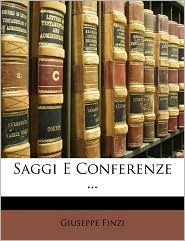 Saggi E Conferenze ...