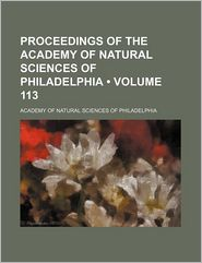 Proceedings of the Academy of Natural Sciences of Philadelphia (113)