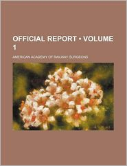 Official Report (Volume 1)