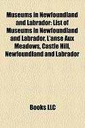 Museums in Newfoundland and Labrador: List of Museums in Newfoundland and Labrador, L'Anse Aux Meadows, Castle Hill, Newfoundland and Labrador
