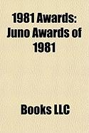 1981 Awards: Juno Awards of 1981