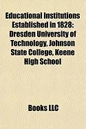 Educational Institutions Established in 1828: Dresden University of Technology