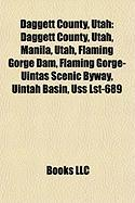 Daggett County, Utah: Flaming Gorge Dam