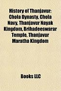 History of Thanjavur: Chola Dynasty