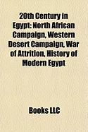 20th Century in Egypt: Western Desert Campaign