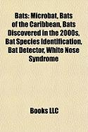 Bats: Microbat, Bats of the Caribbean, Bats Discovered in the 2000s, Bat Species Identification, Bat Detector, White Nose Sy