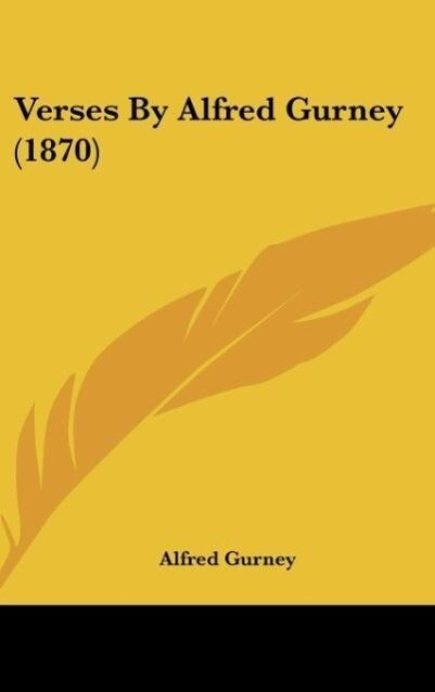 Verses by Alfred Gurney (1870)