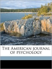 The American Journal of Psychology