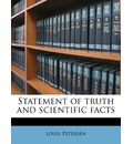 Statement of Truth and Scientific Facts