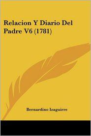 Relacion y Diario del Padre V6 (1781)