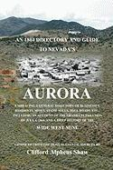 An 1864 Directory and Guide to Nevada's Aurora