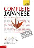 Complete Japanese Book/CD Pack: Teach Yourself