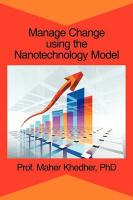 Manage Change Using the Nanotechnology Model - Khedher, Phd Prof Maher