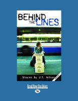 Behind the Lines (Large Print 16pt) - Wilson, J. T.