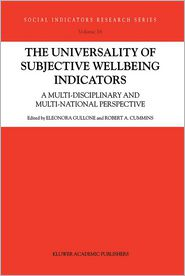 The Universality of Subjective Wellbeing Indicators: A Multi-Disciplinary and Multi-National Perspective