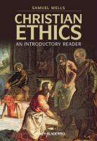 Christian Ethics: An Introductory Reader