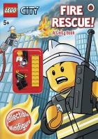 Lego City: Fire Rescue! Activity Book with Lego Figurine