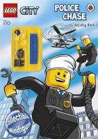 Lego City: Police Chase Activity Book with Lego Minifigure