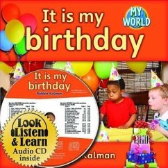 It Is My Birthday - CD + Hc Book - Package