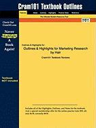 Marketing Research by Hair, ISBN: 2900073404706 - Cram101 Textbook Reviews; Cram101 Textbook Reviews