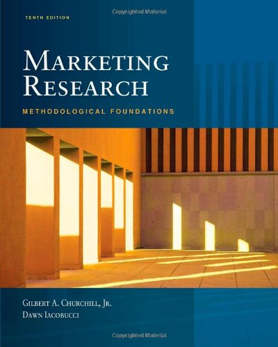 Marketing Research: Methodological Foundations (with Qualtrics Card) - Dawn Iacobucci, Gilbert A. Churchill