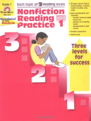 Nonfiction Reading Practice, Grade 1 - Evan Moor