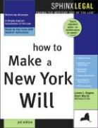 How to Make a New York Will, 3e