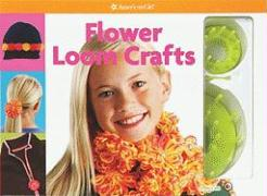 Flower Loom Crafts [With 2 Looms & Needle] (American Girl Do-It-Yourself)