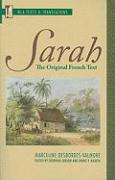 Sarah: The Original French Text