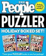 People Puzzler Holiday Boxed Set - People Magazine