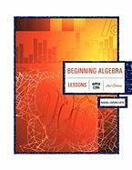 Beginning Algebra 2nd Edition: Lessons - Espericueta, Rafael