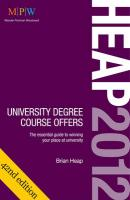 Heap 2012: University Degree Course Offers