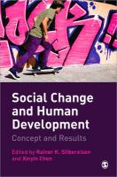 Social Change and Human Development: Concept and Results