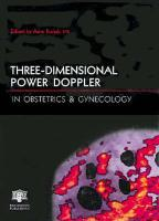 Three-Dimensional Power Doppler in Obstetrics and Gynecology - Kurjak, A.