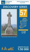 Irish Discovery Series 57. Clare 1 : 50 000