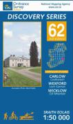 Irish Discovery Series 62. Carlow, Wexford, Wicklow 1 : 50 000