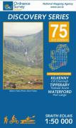 Irish Discovery Series 75. Kilkenny, Tipperary, Waterford 1 : 50 000