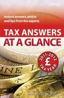Tax Answers at a Glance - Williams, Hugh