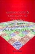 Authenticity & Authority of the Bible - Chant, Ken