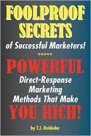 Foolproof Secrets of Successful Marketers!