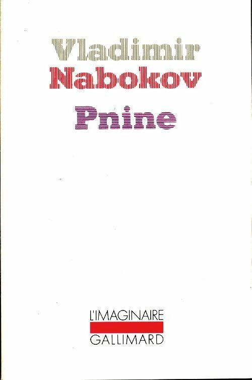 Pnine - Vladimir Nabokov