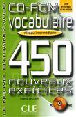 Vocabulaire 450 Exercises CD-ROM (Intermediate)